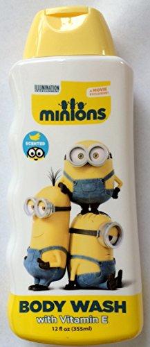 The Minions Movie Body Wash Vitamin E Fruit Scented 12fl Oz Kids Bath Soap