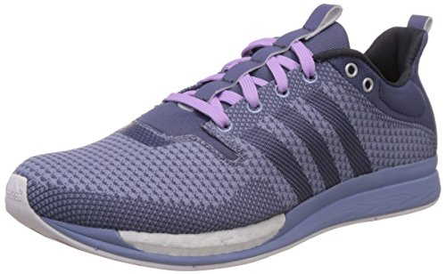 adidas Damen Adizero Feather Boost Laufschuhe, Violett (Super Purple S16/Super Purple S16/Prism Blue F13), 38 EU