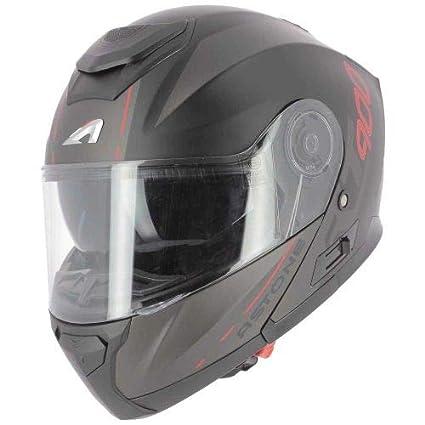 Astone Helmets RT900 Graphic - Casco modulable para moto, multifuncional, homologado, de policarbonato, color negro mate