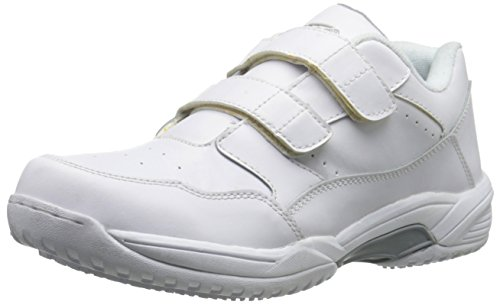 Adtec Men's Uniform Athletic Velcro-M Shoes, White, 13 M US -