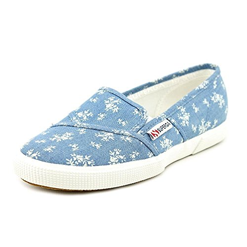 2210 5 8 Superga Size Loafers EU Canvas 39 5 Shoes Womens Blue fUUxwFd