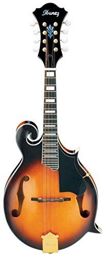 (Ibanez M522SBS F-Style Mandolin, Brown Sunburst High Gloss)