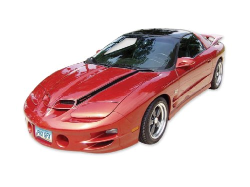 1998 1999 2000 2001 2002 Ram Air Trans Am Formula Firebird Decals & Stripes Kit - Black