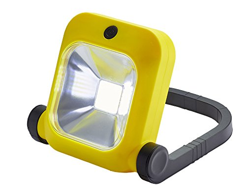 NightSearcher by ProBuilt 514102 Galaxy 2000 Rechargeable LED Floodlight, Yellow by NightSearcher by ProBuilt