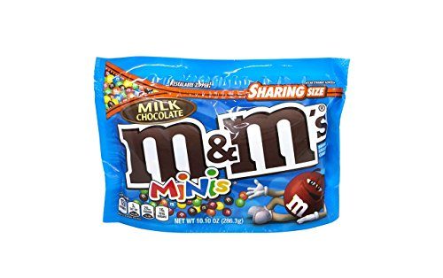 M&M's Minis Milk Chocolate Candy 2 PAck ()