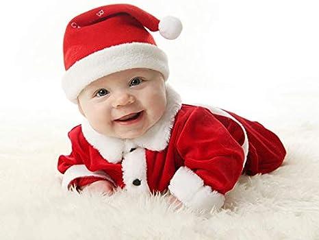 d03f6e59c95bc Buy HUGECOLLECTION New Born Unisex Christmas Santa Claus Fancy Dress ...