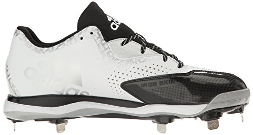 adidas Originals Men's Freak X Carbon Mid Baseball Shoe White/Black/Metallic/Silver sast cheap online IBRVfKQ8