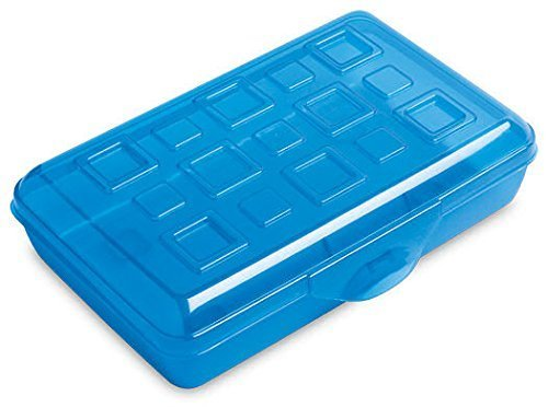 Designer Box Storage (Sterilite Pencil Box with Splash Tint Lid (17224812))