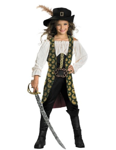Angelica Deluxe Child Costume - Large (10-12) (Penelope Movie Costumes)