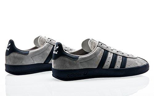 adidas Originals Spezial Mallison SPZL, Color Light Onix-Navy White-Running White, 3,5