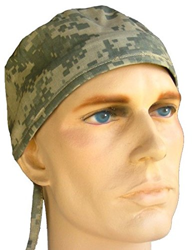 Mens and Womens Surgical Scrub Cap - Army ACU Digital Camo (Men Surgical Caps compare prices)