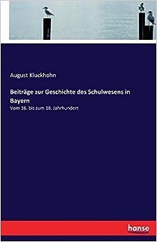 Book Beiträge zur Geschichte des Schulwesens in Bayern