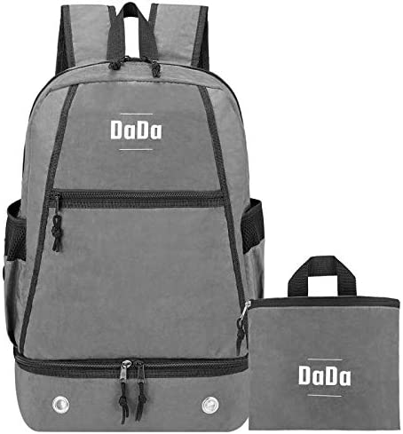DaDa 35L Ultralight Packable Backpack, Water Resistant Travel Hiking Daypack for Men Women Designed in USA