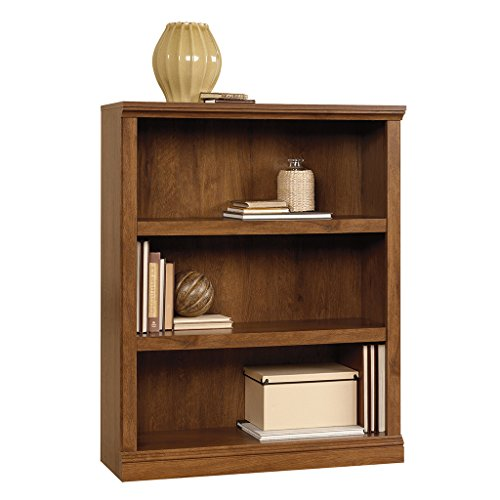 Sauder 3-Shelf Bookcase, Oiled Oak Finish by Sauder