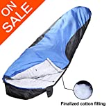 VERZEY Envelope Camping Sleeping Bag, Great for 4 Season, Traveling Camping Hiking Outdoor Activities Waterproof Sleeping Bag for Adults, Kids, Boys and Girls