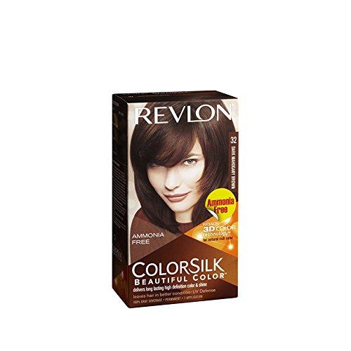 Good Seller ! Revlon Colorsilk -No.32 Mahogany Brown