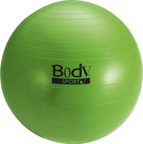 Body Sport Anti-Burst Fitness Ball, Green, 55cm