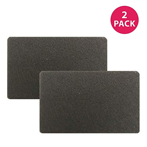 Think Crucial Replacement Vacuum Filters - Black & Decker 4.6 x 4.2 x 0.3 Rectangle Carbon Filter Part - Premium Parts to Pair with Model BDASV102 Airswivel Vacuum Cleaners - Bulk (2 Pack)