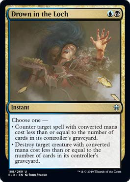 Magic: The Gathering - Drown in The Loch - Throne of Eldraine