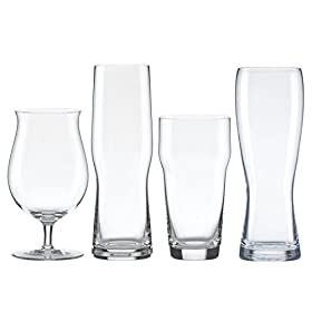Lenox Tuscany Craft Beer Glass Collection Assorted Set