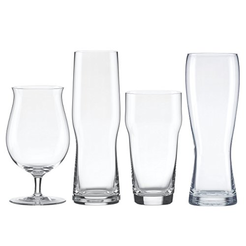 Lenox Tuscany Craft Beer Glass Collection Assorted Set, clear by Lenox