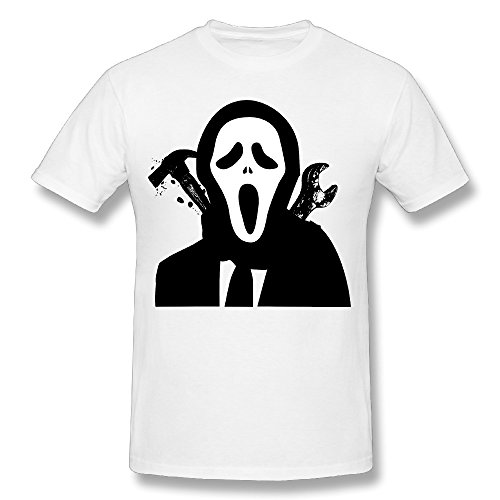 SNOWANG Men's Halloween For Fun T-shirt M -