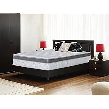 Olee Sleep 13 Inch Box Top Hybrid Gel Infused Memory Foam Innerspring Mattress (King) 13SM01K