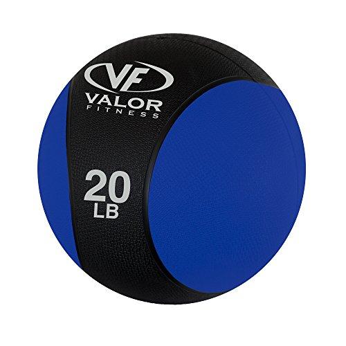 Valor Fitness Medicine Ball, 20 lb