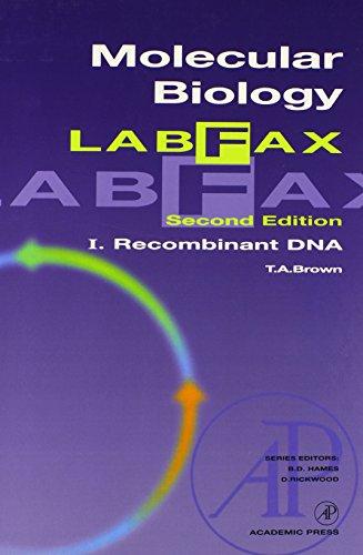 Molecular Biology LabFax, Volume 1: Recombinant DNA (Vol 1)