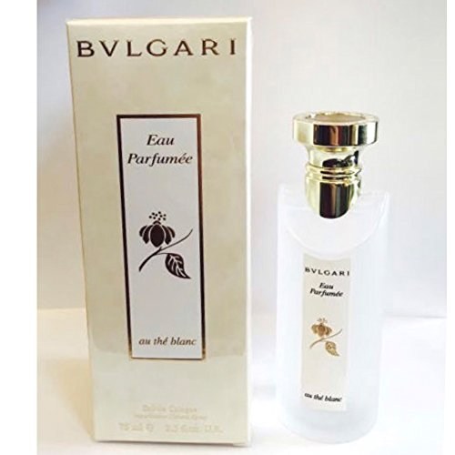 Bvlgari Eau Parfumee Au The Blanc Eau De Cologne Spray for Unisex 2.5 fl oz, 75 (New - New Au