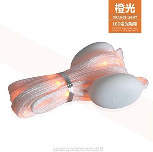 三対を実行している白いリボンツェッペリングローレースナイト,オレンジ色