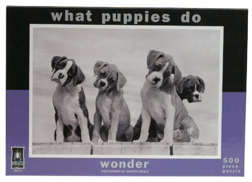 What Puppies Do   Wonder Jigsaw Puzzle  500 Pcs