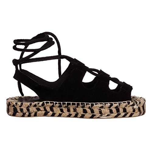 Colors of California Espadrille damen, nubukleder, espadrilles, 38 EU