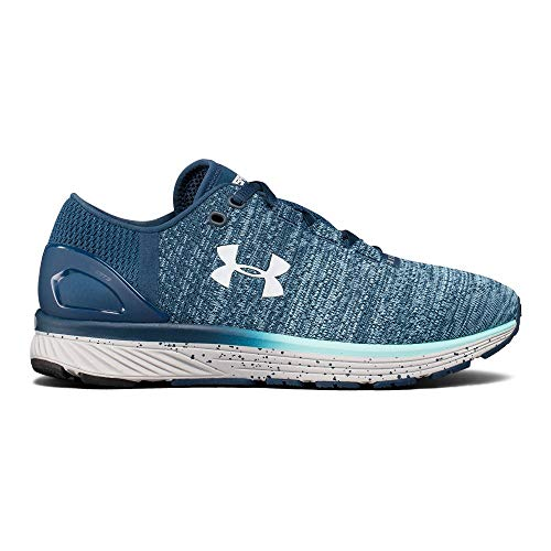 Under Armour Women's Charged Bandit 3 Running Shoe, True Ink (918)/Blue Infinity, 8 (Under Armour Women Running Shoes)