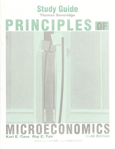 Principles of Microeconomics, Sixth Edition (Study Guide)