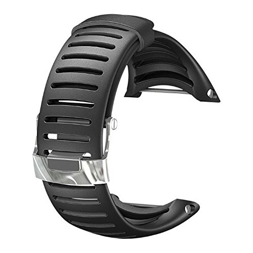 SUUNTO Core Wrist-Top Computer Watch Replacement Strap (Light Black)