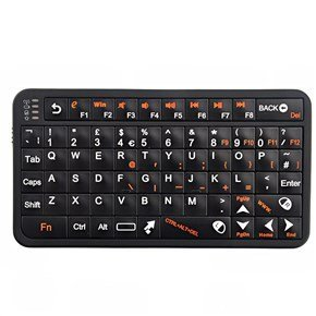Wireless Air Keyboard Mouse Black - 5