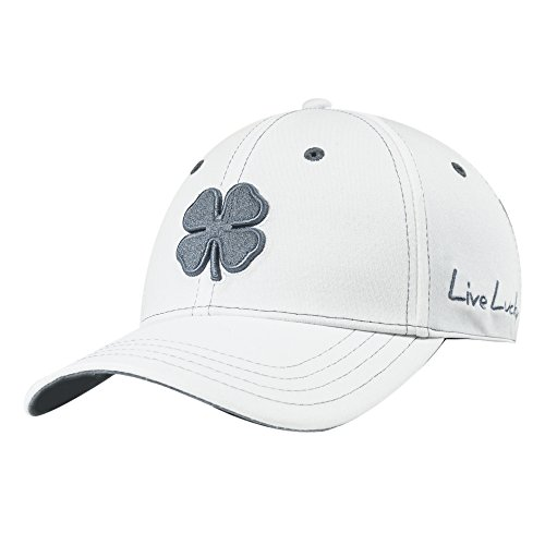 Black Clover Mens Rope Lucky and Grey Cap L/XL White
