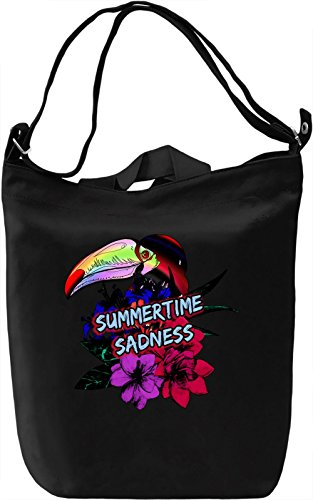 Summertime Sadness Borsa Giornaliera Canvas Canvas Day Bag| 100% Premium Cotton Canvas| DTG Printing|