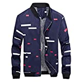 Faionny Mens Jacket Fashion Casual Coat Plus Velvet Outwear Slim Outwear Stand Collar Overcoat