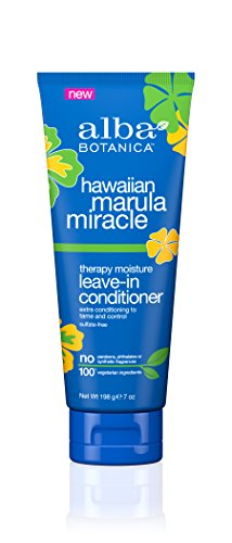 (Alba Botanica Hawaiian Marula Miracle Therapy Moisture Leave-In Conditioner, 7 oz. (Pack of 6))