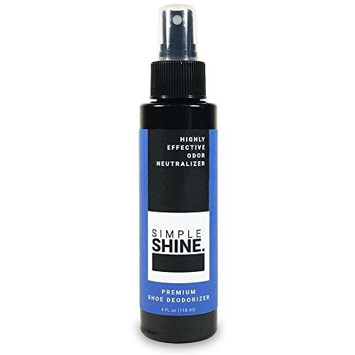 Premium Shoe Deodorizer Foot Spray | Shoe Spray Eliminator Feet and Sweat | Extra Strength Shoe Odor Eliminator and Deodorant ()