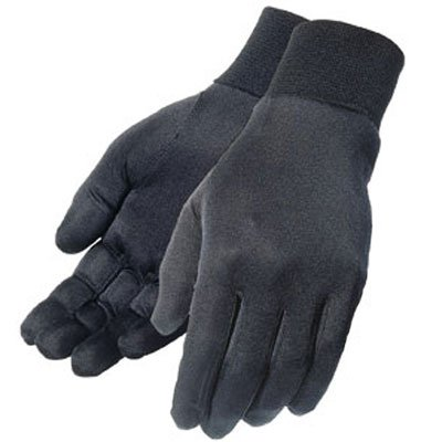 Polar Fleece Glove Liners (Tour Master Polar Fleece Mens Liner Street Motorcycle Gloves - Black / Large/X-Large)
