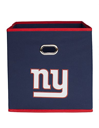 Nfl Cube (NFL New York Giants Fabric Storage Bin, 11 x 11-inches, Royal Blue)