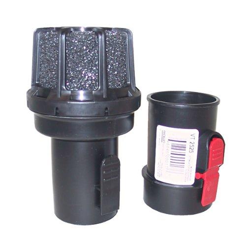Ridgid VT2525 2.5 Inch Muffler / Diffuser Accessory for Ridgid Wet / Dry Vacuums (Adaptor Included) by Ridgid
