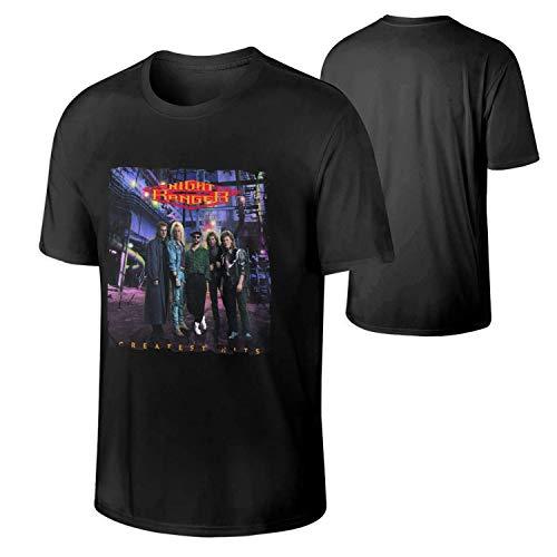 Men Night Ranger Greatest Hits Music Band Aid T-Shirt Gift,XX-Large,Black ()