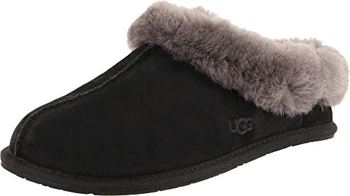 UGG Women's Moraene Black Suede Slipper 6 B (M) from UGG