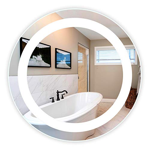 LED Front-Lighted Bathroom Vanity Mirror: 36