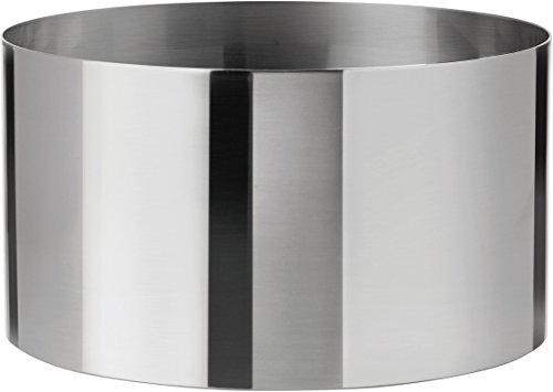 Stelton 022-1 Salad Bowl, Stainless Steel by Stelton