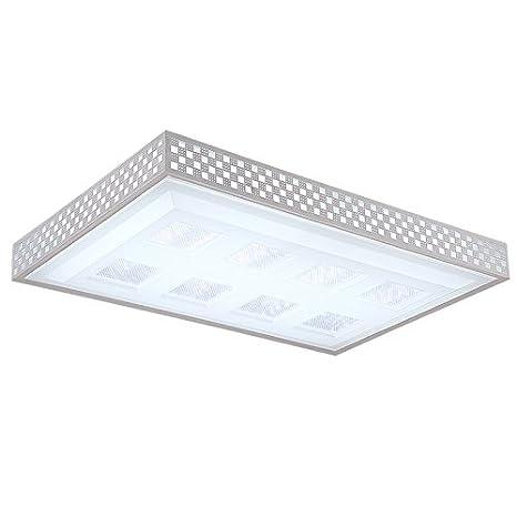 TYDXSD Lámpara de techo Led cálido salón rectangular ...